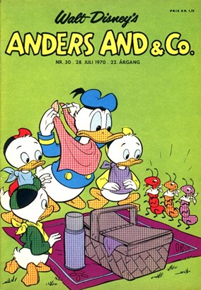 Anders And & Co. nr.  30 - 1970 (lille)