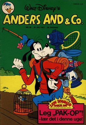 Anders And & Co. nr.  30 - 1977 (lille)