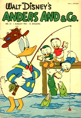 Anders And & Co. nr.  31 - 1961 (lille)