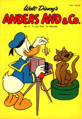 Anders And & Co. nr.  31 - 1962 (lille)