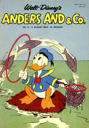 Anders And & Co. nr.  31 - 1964 (lille)