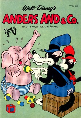 Anders And & Co. nr.  31 - 1967 (lille)