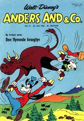Anders And & Co. nr.  31 - 1968 (lille)