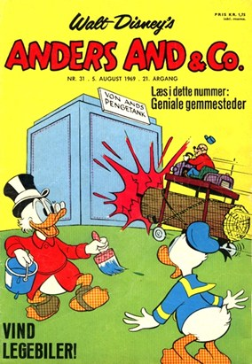 Anders And & Co. nr.  31 - 1969 (lille)