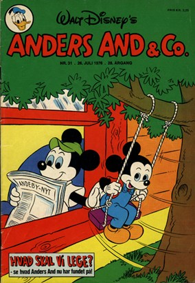 Anders And & Co. nr.  31 - 1976 (lille)