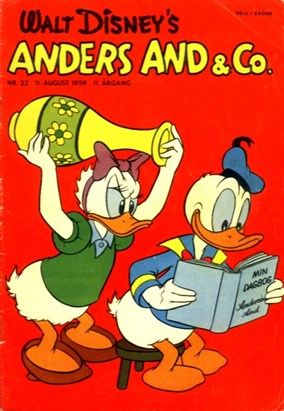 Anders And & Co. nr.  32 - 1959 (lille)