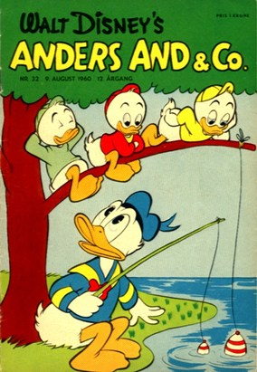 Anders And & Co. nr.  32 - 1960 (lille)