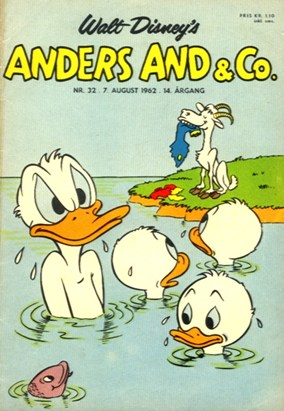 Anders And & Co. nr.  32 - 1962 (lille)