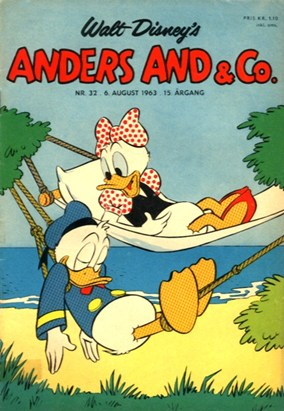 Anders And & Co. nr.  32 - 1963 (lille)