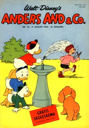 Anders And & Co. nr.  32 - 1964 (lille)