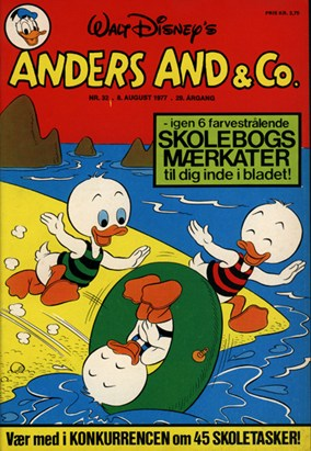 Anders And & Co. nr.  32 - 1977 (lille)