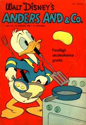 Anders And & Co. nr.  33 - 1961 (lille)