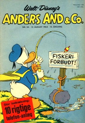 Anders And & Co. nr.  33 - 1963 (lille)