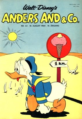Anders And & Co. nr.  33 - 1964 (lille)