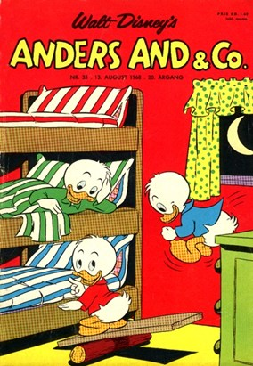 Anders And & Co. nr.  33 - 1968 (lille)