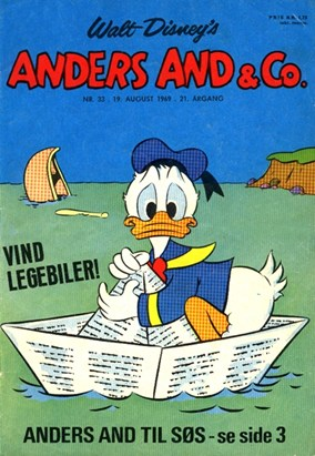 Anders And & Co. nr.  33 - 1969 (lille)