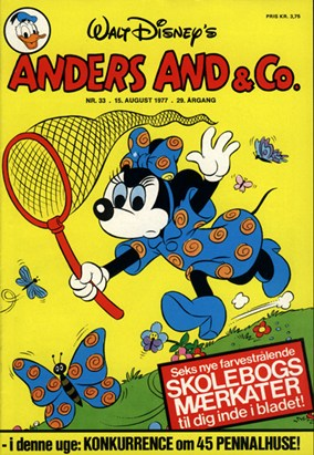 Anders And & Co. nr.  33 - 1977 (lille)