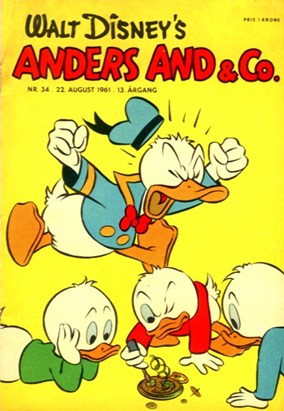 Anders And & Co. nr.  34 - 1961 (lille)