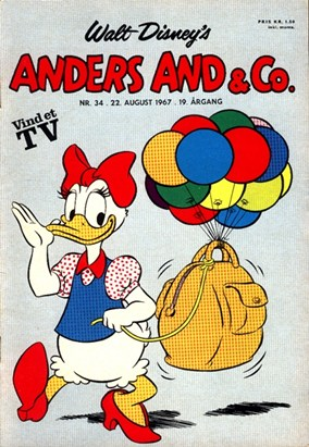 Anders And & Co. nr.  34 - 1967 (lille)