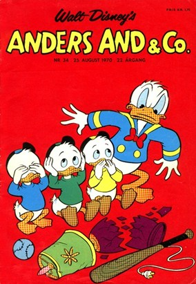 Anders And & Co. nr.  34 - 1970 (lille)