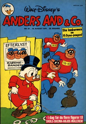 Anders And & Co. nr.  34 - 1976 (lille)