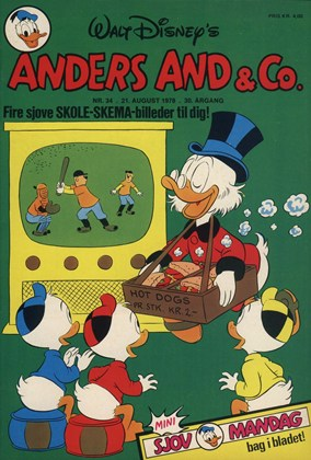 Anders And & Co. nr.  34 - 1978 (lille)