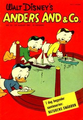 Anders And & Co. nr.  35 - 1961 (lille)