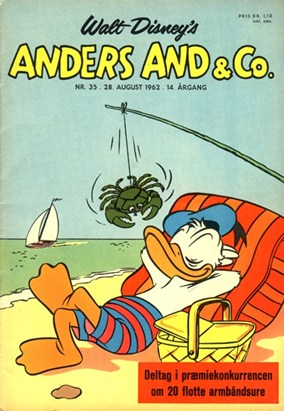 Anders And & Co. nr.  35 - 1962 (lille)