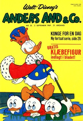 Anders And & Co. nr.  35 - 1969 (lille)
