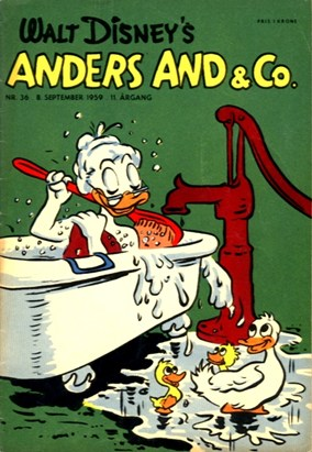 Anders And & Co. nr.  36 - 1959 (lille)