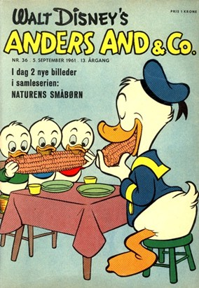Anders And & Co. nr.  36 - 1961 (lille)