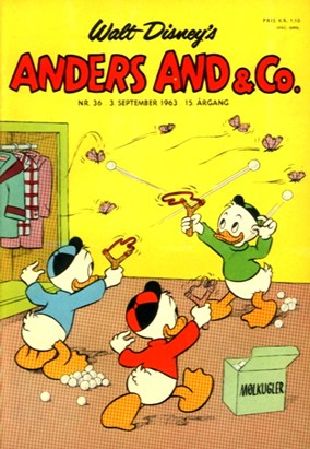 Anders And & Co. nr.  36 - 1963 (lille)