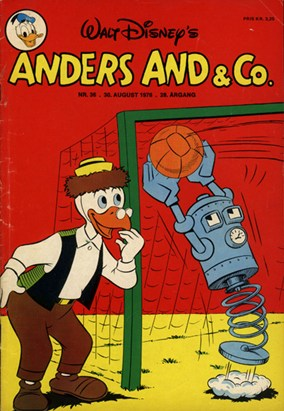 Anders And & Co. nr.  36 - 1976 (lille)