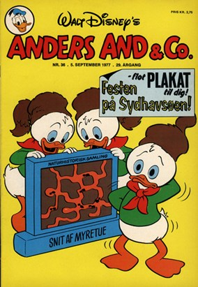 Anders And & Co. nr.  36 - 1977 (lille)