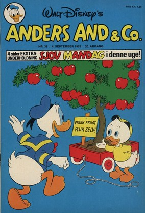 Anders And & Co. nr.  36 - 1978 (lille)