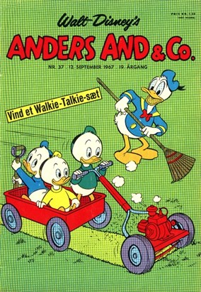 Anders And & Co. nr.  37 - 1967 (lille)