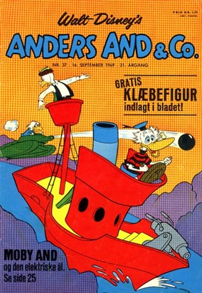Anders And & Co. nr.  37 - 1969 (lille)