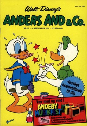 Anders And & Co. nr.  37 - 1975 (lille)