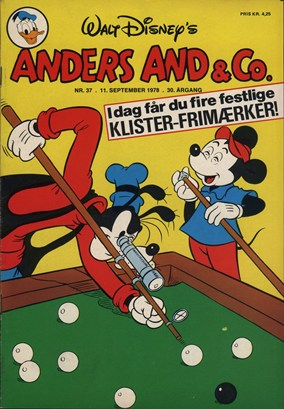 Anders And & Co. nr.  37 - 1978 (lille)