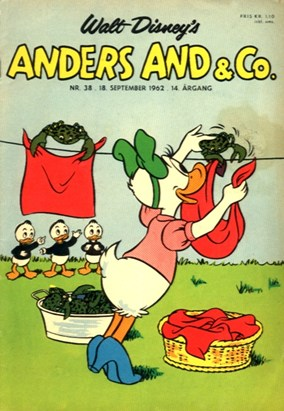 Anders And & Co. nr.  38 - 1962 (lille)