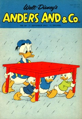 Anders And & Co. nr.  38 - 1963 (lille)