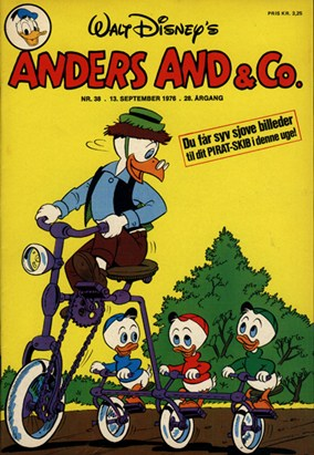Anders And & Co. nr.  38 - 1976 (lille)