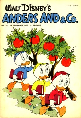 Anders And & Co. nr.  39 - 1959 (lille)