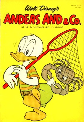 Anders And & Co. nr.  39 - 1963 (lille)