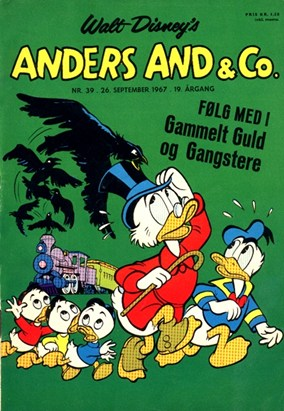 Anders And & Co. nr.  39 - 1967 (lille)