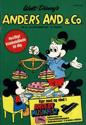Anders And & Co. nr.  39 - 1975 (lille)