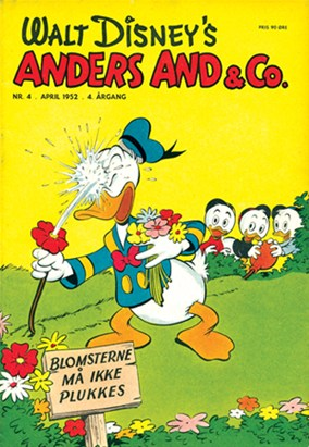 Anders And & Co. nr.  4 - 1952 (lille)