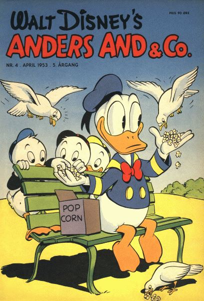 Anders And & Co. nr.  4 - 1953 (lille)