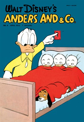 Anders And & Co. nr.  4 - 1955 (lille)