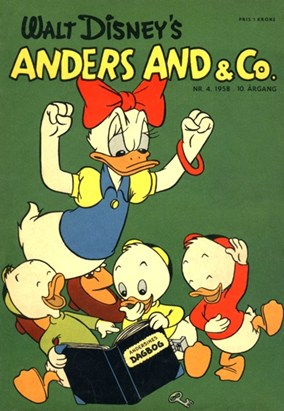 Anders And & Co. nr.  4 - 1958 (lille)